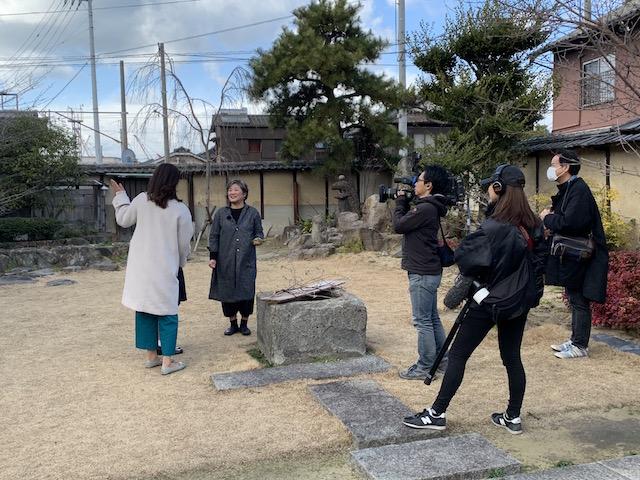 広島テレビから取材